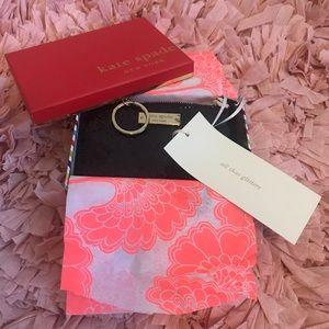 Kate Spade Sparkle Zip Wallet